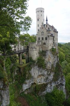 Lichtenstein Castle -The Only True Fairytale Castle-Germany (4)