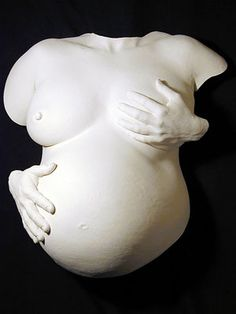 pregnant belly casts - Google Search