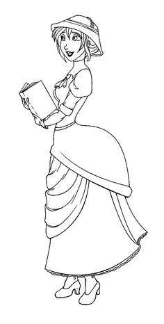 jane porter read the book coloring pages for kids printable tarzan coloring pages for kids