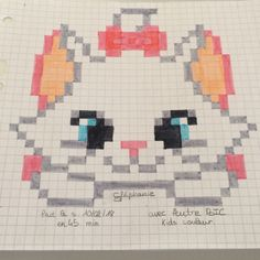 art and drawings Pixel Pattern, Pattern Art, Easy Pixel Art, Compass Drawing, Modele Pixel Art, Pixel Drawing, Anime Pixel Art, Pix Art, Pixel Art Templates