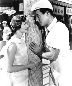 """Debbie Reynolds & Gene Kelly - """"Singin' in the Rain"""" ~ an all-time classic! They paired beautifully together in this film! Old Hollywood Stars, Golden Age Of Hollywood, Classic Hollywood, Vintage Hollywood, Hollywood Glamour, My Fair Lady, Singin In The Rain, Beverly Hills, Pittsburgh"""
