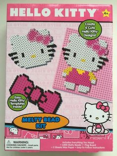 Hello Kitty Melty Bead Kit ** You can get more details by clicking on the image.Note:It is affiliate link to Amazon.