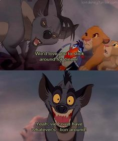 Super Funny Disney Puns The Lion King Ideas Simba Disney, Disney Puns, Funny Disney Memes, Disney And Dreamworks, Disney Pixar, Funny Memes, Hilarious, Disney Villains, Disney Animation