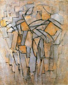 not identified - Piet Mondrian -  #art