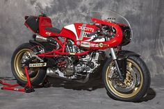 Cafe Racer Ducati Retro 00001