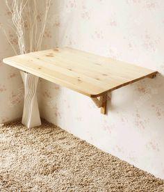 wandklapptische klappbare holztische f r kleine r ume alles pinterest wandklapptisch. Black Bedroom Furniture Sets. Home Design Ideas
