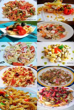 10 Recetas de Ensaladas de Pasta My Recipes, Italian Recipes, Cooking Recipes, Bread Machine Recipes, Bon Appetit, Pasta Salad, Tapas, Food And Drink, Easy Meals
