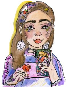 Sorry, Not Sorry: how I quit apologizing for existing -- by Rowan Blanchard -- Rookie Mag -- Illustration by Isabel Ryan.