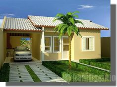 Simple House Design, Modern House Design, Indian Home Design, Mexico House, Architectural House Plans, Tiny House Plans, Architecture Design, Pergola, My House