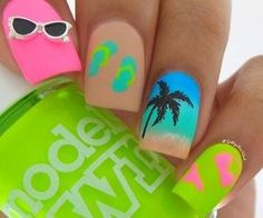 #funnails #summervibes #vacaynails