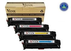 1PK GENERIC CE321A 128A CYAN Toner For HP LaserJet Pro CM1415FNW CP1525NW