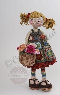 Crochet Doll Pattern, Crochet Toys Patterns, Crochet Chart, Amigurumi Patterns, Stuffed Toys Patterns, Crochet Dolls, Doll Patterns, Knit Crochet, Pattern Cute