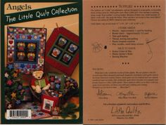 Angels+The+Little+Quilt+Collection+Pattern+LQC9