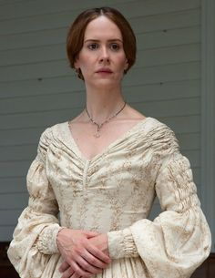 12 Years a Slave (Steve McQueen) with Sarah Paulson as Mary Epps #CostumeDesign: Patricia Norris