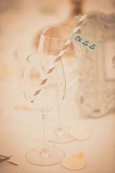 An elegant French wedding theme with great details for Lucy and Hywel