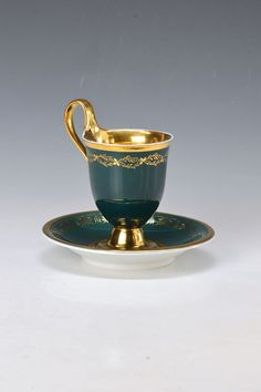 cup with saucer, KPM Berlin : Lot 5118