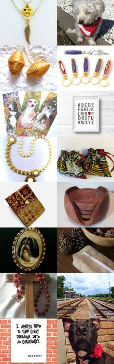 I Let the Dogs Out! by spoiledfelines1 on Etsy--Pinned+with+TreasuryPin.com #etsyteamunity #integritytt