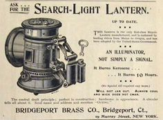 1895 Search Light Bicycle Lantern Ad