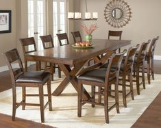 Shop for Hillsdale Furniture Park Avenue Counter Height Dining Set, and other Bar and Game Room Bar Sets at Zing Casual Living in Naples and Fort Myers, FL. 7 Piece Dining Set, Dining Room Sets, Dining Table In Kitchen, Dining Room Chairs, Dining Area, Wooden Dining Table Set, Dinning Set, Round Dining, Trestle Dining Tables