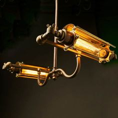 泥臭さのない美しいスチームパンクスタイルの照明器具 | ARTIST DATABASE
