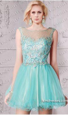 henomenal Jewelled Sheer Open Back Short Lace Dress Blue Dresses http://www.ikmdresses.com/Phenomenal-Jewelled-Sheer-Open-Back-Short-Lace-Dress-p60918
