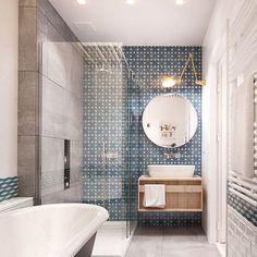 ☆Hello beautiful tiles! #wholovesthat #inspo #bathroom #decor