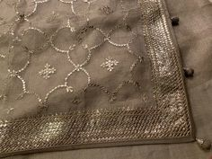 Hand Work Embroidery, Embroidery Saree, Hand Embroidery Designs, Embroidery Stitches, Designer Punjabi Suits, Indian Designer Wear, Anarkali Dress, Minimalist Fashion, Blouse Designs