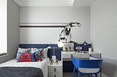 Small Lounge Rooms, Home Tv Stand, Boy Room Paint, Boys Room Design, Childrens Beds, Family Room Decorating, Kid Spaces, House Rooms, Kids House