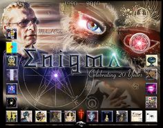 Always loved the musical work of Micheal Cretu's Enigma.  Created this for Enigma's 20th Anniv.
