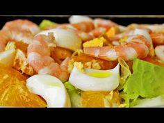 Ensalada de naranjas - Receta sana y fácil - YouTube