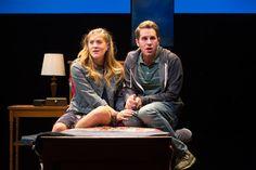 Laura Dreyfuss and Ben Platt in \