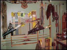 """Wall Bow Rack Plans 
