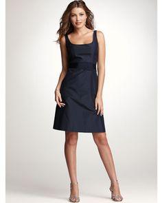 Ann Taylor bridesmaid dress. Simple, pretty.