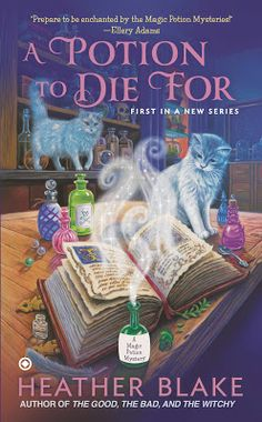 A Potion to Die For by @Heather Creswell Blake. Fun mystery.