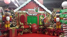 Awesome Christmas scene for Santa
