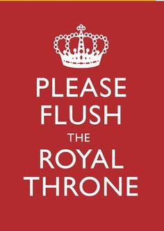 Gently remind your little ladies to flush the royal throne with these printables from Gudridge - Simply Styled Home British Themed Rooms, Royal Tea Parties, British Party, Royal Throne, London Underground, Underground Living, British Home, Staff Appreciation, Condo Living