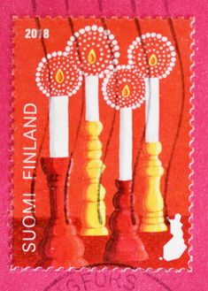 Postage Stamps, Finland, Blessings, Dutch, Nostalgia, Blessed, Peace, Christmas, Design