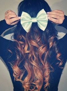 Exactly how i want mine <3 Brown ombre hair