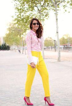 Sorprendentes zapatos de moda color rosa | Moda 2016