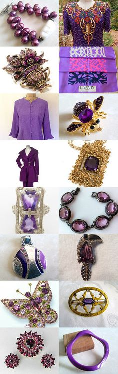 Purple Passion Teamlove Spotlight Shop Of the Week by Gena Lightle on Etsy--Pinned with TreasuryPin.com