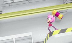 """theunobliteratable: """"STOP BEING CUTE """" Might be just me and my sonamy obsessed mind but it's like he was subconsciously watching her train and daydreaming, then he's like """"oh wait she's talking to me"""" XDDDDD Sonic Boom Amy, Sonic And Amy, Sonic And Shadow, The Sonic, Amy Rose, Sonic The Hedgehog, Sonamy Comic, Sonic Underground, Sonic Funny"""
