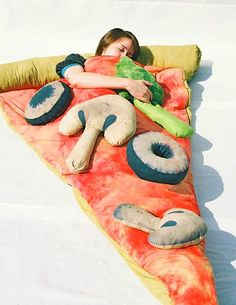 Funny pictures about Slice of Pizza Sleeping Bag. Oh, and cool pics about Slice of Pizza Sleeping Bag. Also, Slice of Pizza Sleeping Bag photos.