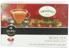 Twinings K-Cup Tea, Christmas, 12 Count - http://teacoffeestore.com/twinings-k-cup-tea-christmas-12-count/