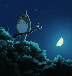 Totoro and his ocarina.