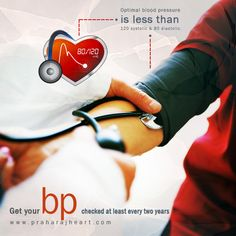 Get your #BloodPressure checked at least every two years. On the other hand; a more frequent measurement of your blood pressure level is required if in case your BP level is higher than normal or if you have a history of #HeartDisease. Optimal blood pressure is less than 120 systolic and 80 diastolic. Take a look at the few damaging #LifestyleChoices, which we often make to damage the heart.