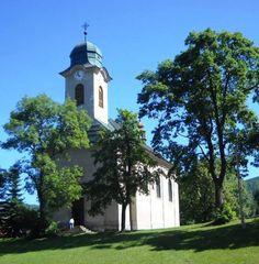 Kostel sv. Václava - Harrachov - Česko