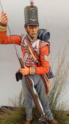 British 28th Regiment at Waterloo