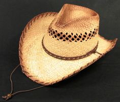 Resistol Jason Aldean She s Country Straw Cowboy Hat  7c8cb233e8d