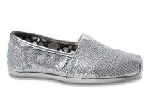 Oh, hell yes. Sparkles! Great casual slip-ons, Tom's Shoes, $54