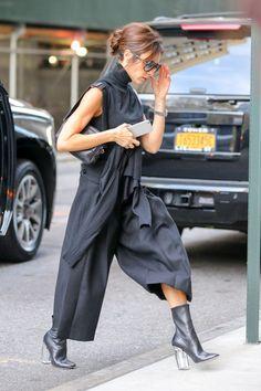 Victoria tiene un estilo clásico pero se atreve con las tendencias. ¿Un ejemplo? Los culottes se han convertido en una de sus prendas fetiche. Foto, Gtres Online